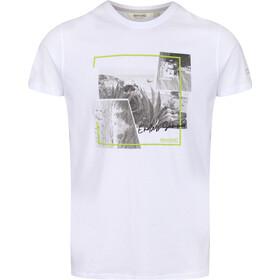 Regatta Cline IV Maglietta a maniche corte Uomo, bianco/grigio